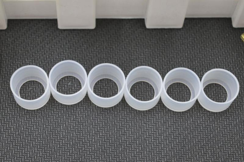 Descartável Borracha Pontas De Gotejamento Teste Descartável Bocal Capa Cap Para Sigelei Wildfox Starter Kit Com Fuchai Wildfox AIO Mod de Alta Qualidade
