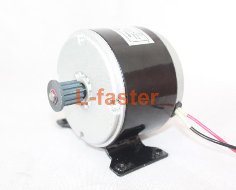 24V 250W Small Dolphin Scooter Motor Electric Bicycle Belt Drive Fitting MY1016 High Speed Belt MOTOR