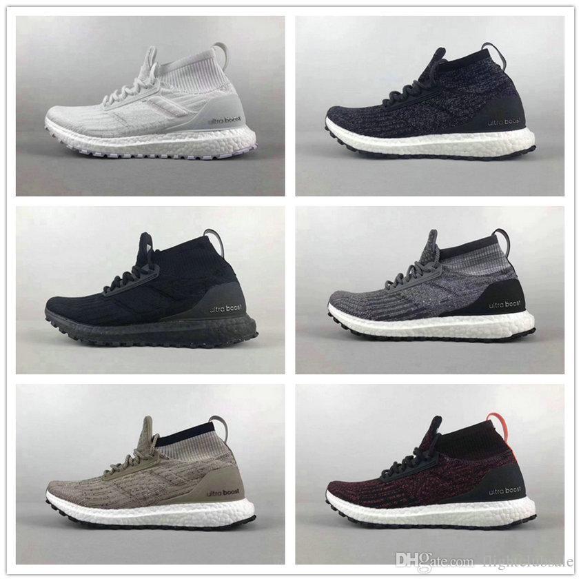 cc6aeb14fe263 ... By8925 For Sale  Ultra Boost Atr Mid Trace Khaki Triple Black Mens  Womens Running Shoes Size Eu39 46.5 Us6  Adidas ...