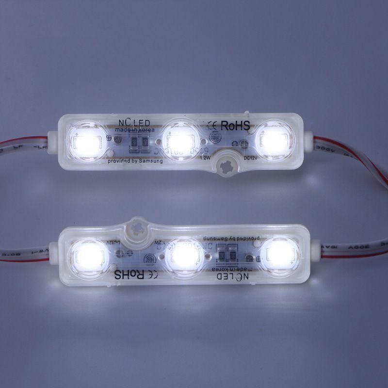 IP68 Injektion LED-Modul 5630 1.5W 3LEDs Zeichen Hintergrundbeleuchtung Wasserdicht Rot, weiß, blau 12V 60lm jede Lichtwerbung