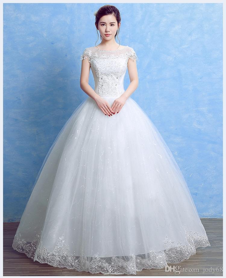 2017 Good Quality Wedding Gown And Good Lace Elegant And Beautiful ...