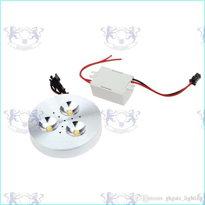 3W LED Puck Kabinett Licht LED Strahler Deckenleuchten Puck Licht 300-330LM LED Downlight Warm / Pure / Cool White Küche Schlafzimmer Beleuchtung