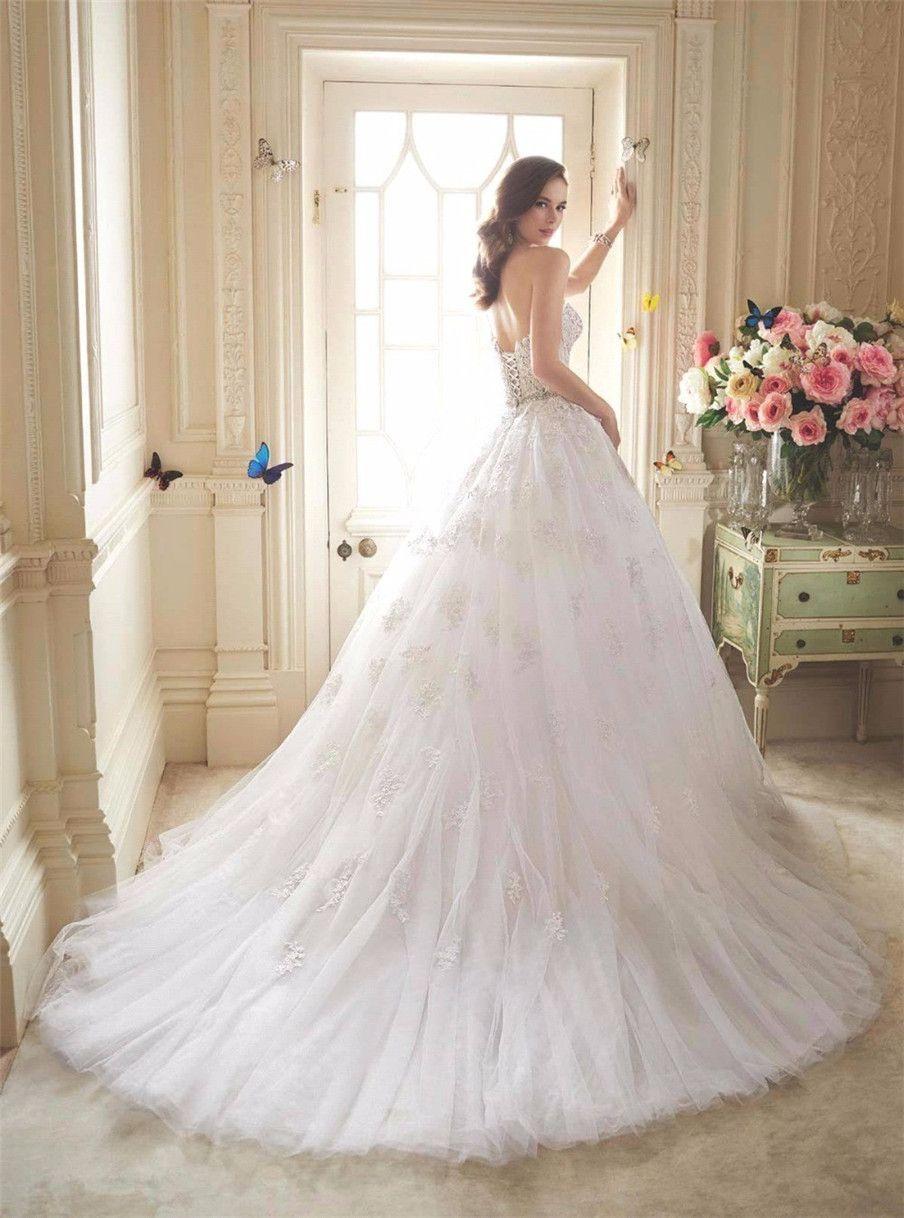 Милая аппликация кружева русалка свадебное платье с съемным поездом юбкой из двух частей свадебных платьев