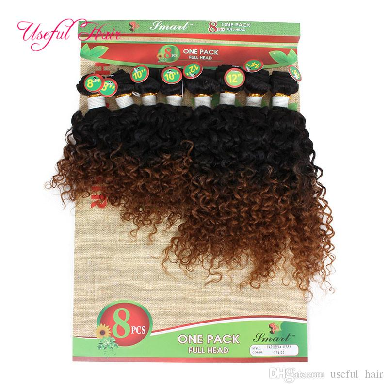 2018 fashion short human hair ombre burgundy kinky curly Brazilian hair deep wave human braiding hair extensions weaves closure marley
