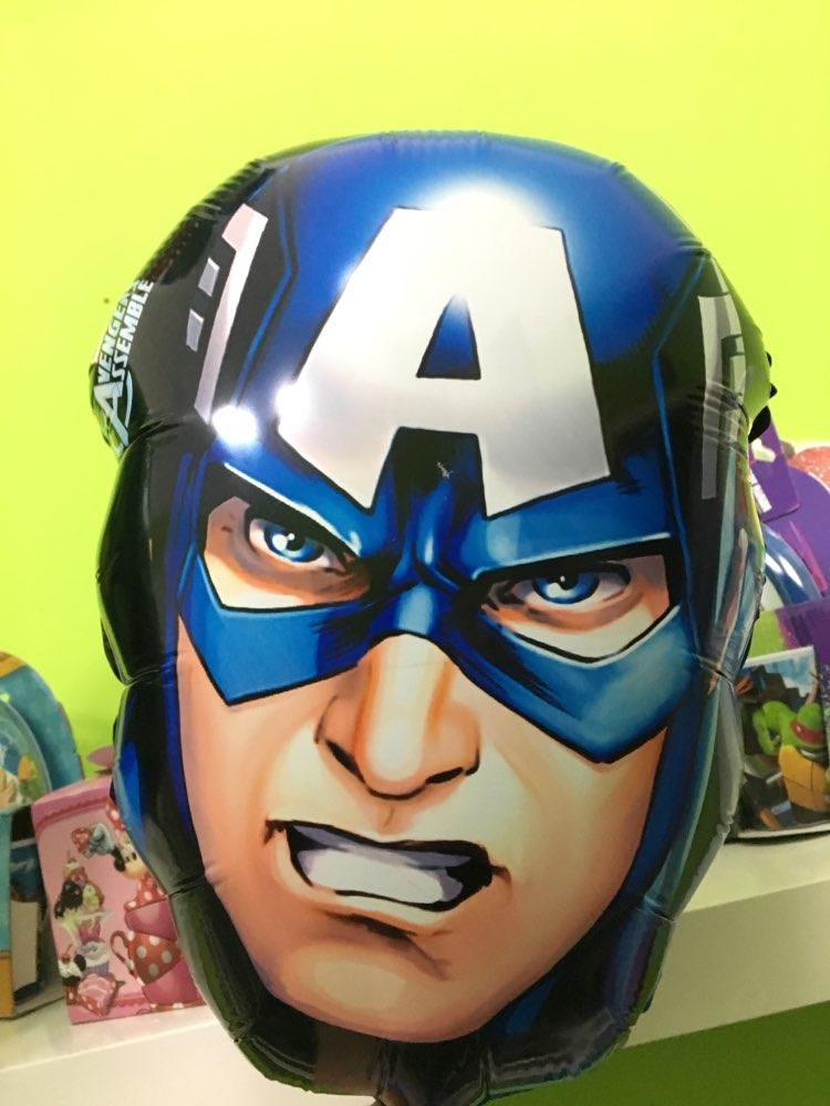 30*45cm The Avengers foil balloons super hero baby toys hulk Captain America superman batman Iron man spider-man helium balloon