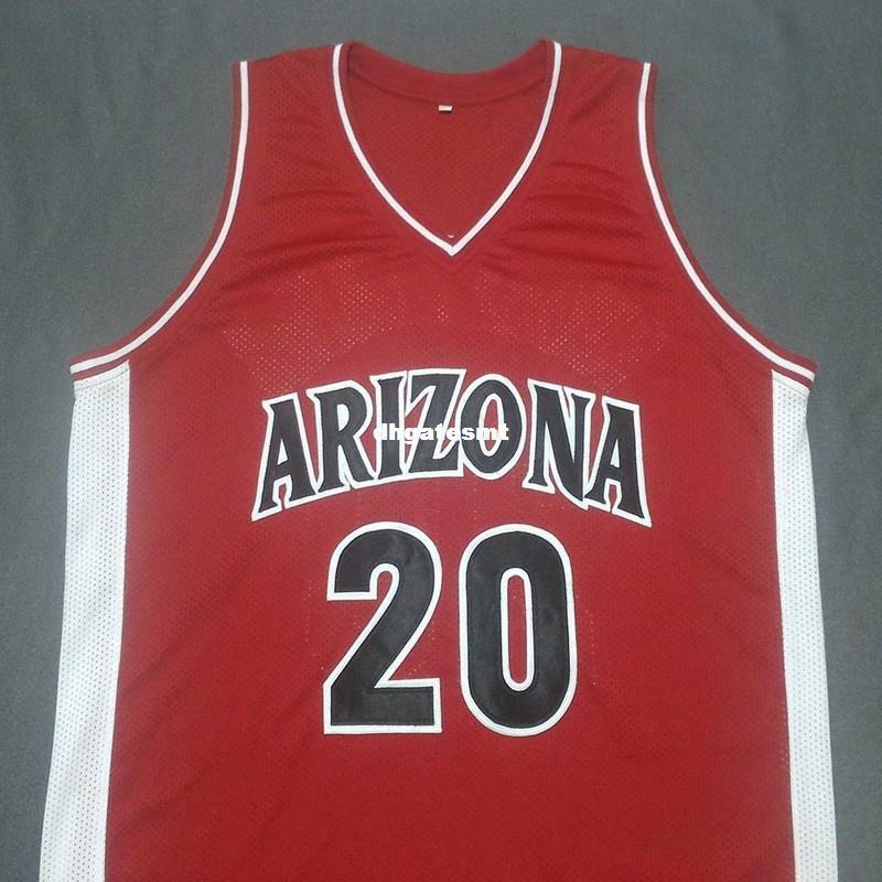 abcb837b0e2 Cheap Custom DAMON STOUDAMIRE Arizona Wildcats Red College Jersey ...