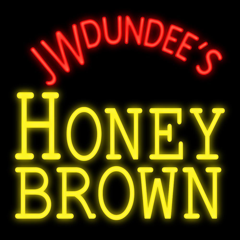 2019 Jw Dundees Honey Brown Beer Neon Sign Handmade Custom Real