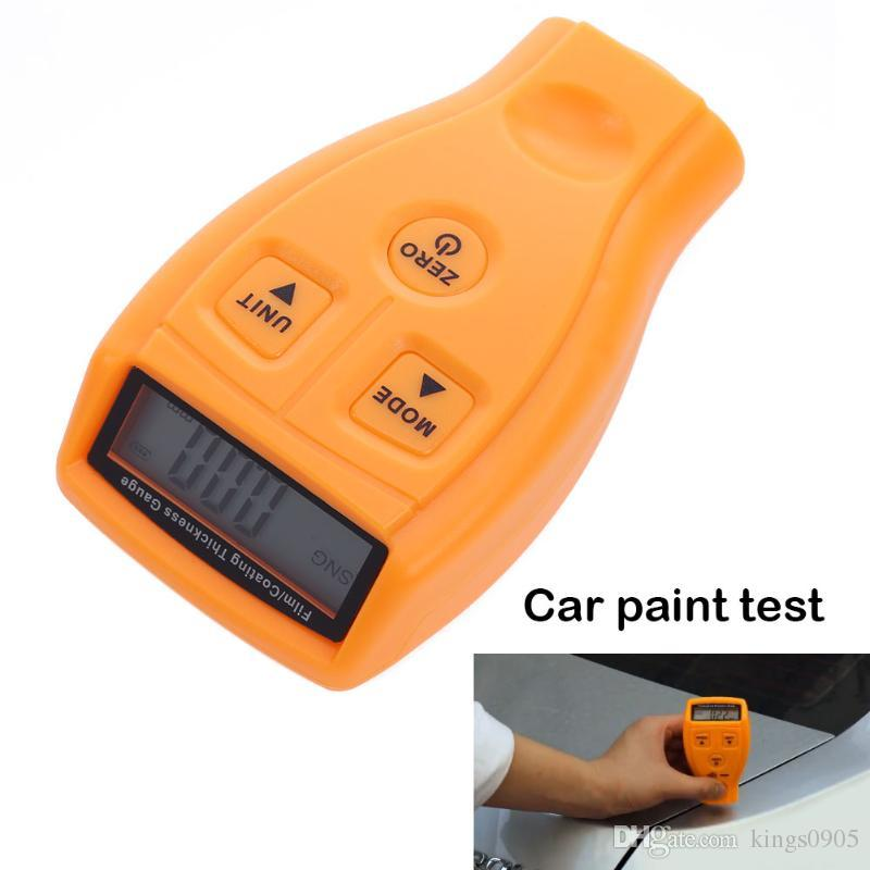 GM200 Ultrasonic Coating Painting Film Zinc Plating Thickness Gauge Tester Car Paint Gauge Test Sheet Metal Thickness Gauge