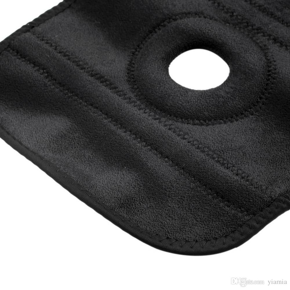 Genouillère réglable de genou de soutien de genou de genou du genou 1 Protège-genou d'enveloppes de coussinets de douille de douille de genou de genou pour le basket-ball