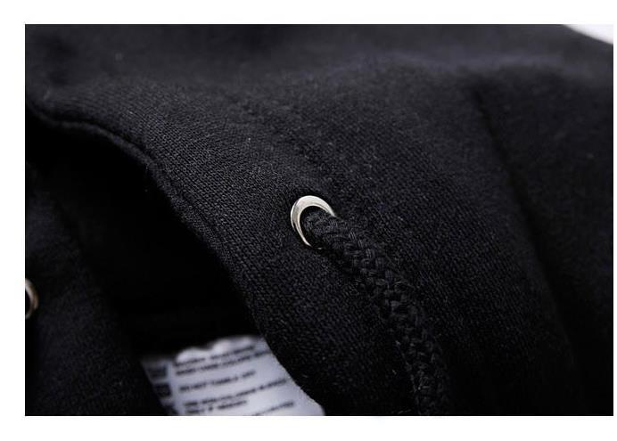 Anime Little Monster Hoodie Zip Up Men's Fleece Cardigan Sweatshirts Hooded Cartoon Coat