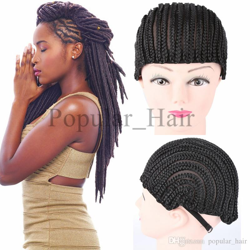 Braided Cap For Weave Wig Synthetic Hair Products Cornrow Wig Caps For Making  Wigs With Elastic Band Women Hairnets Easycap Canada 2019 From  Popular hair f33f8194f2