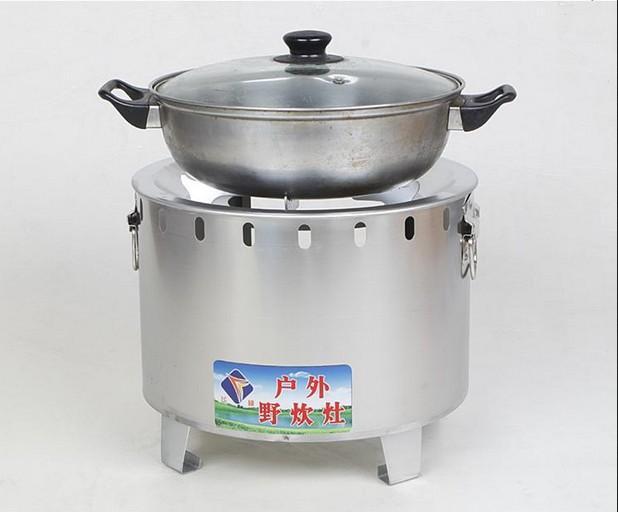 Portable carbone legno esterni in acciaio inox Stufe stufe a carbone picnic barbecue da giardino riscaldamento domestico forno 002