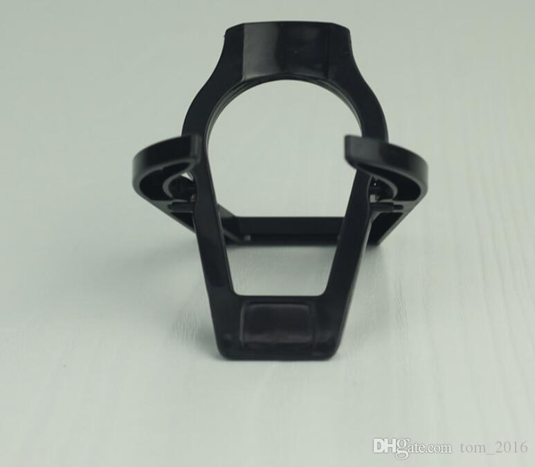 Étagère de support de support de support de tuyau pliant en plastique noir 50 pièces /
