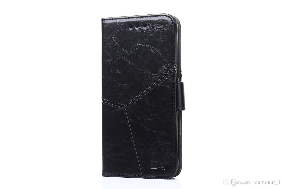 Wholesale Custom Logo Wallet Filp Leather Phone Cover for Samsung note3 note4 note5 Phone Cover with Stand Holder
