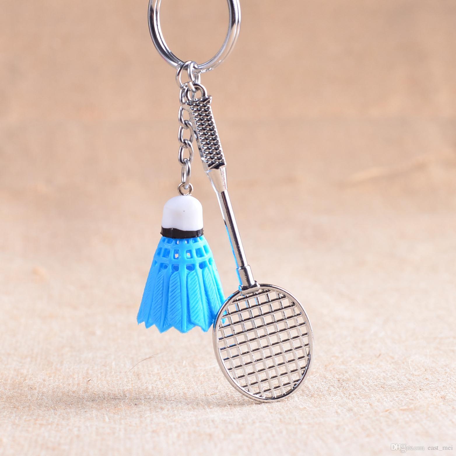 En iyi hediye Hediye hediyeler yaratıcı yeni süsler anahtar halkası badminton anahtarlık KR173 Anahtarlık düzeni 20 adet çok mix