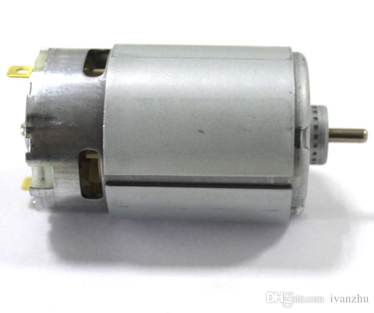 표준 샤프트 550 dc 모터, 12V 마이크로 dc 모터, 고속, 3.175 지름 샤프트, DIY 드릴링 모터