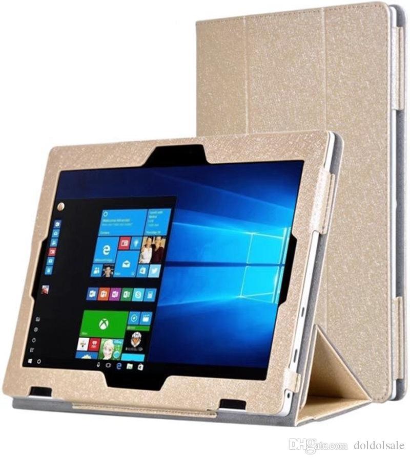 Custodia in pelle PU siliconica con supporto Lenovo Miix 320-10ICR Miix320 Miix 320 Tablet 10,1 pollici + pellicola proteggi schermo trasparente