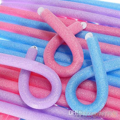 New Arrivals Soft Foam Bendy Twist Curler Sticks DIY Hair Design Maker Curl hair Roller Tool
