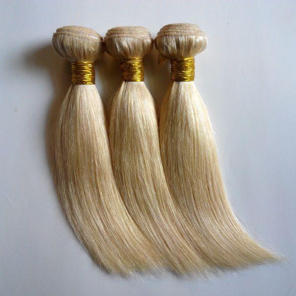 Brazilian European Virgin Human Hair Silky Straight Weaves Raw New