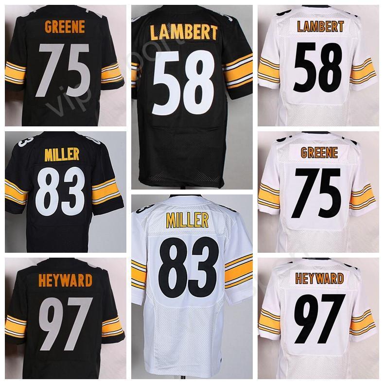 4aede7928 Nike Steelers 99 Brett Keisel White Mens Embroidered NFL Limited Jersey  2017 Hot Men 83 Heath Miller 97 Cameron Heyward Jersey 58 Jack Lambert 75  Joe Greene ...