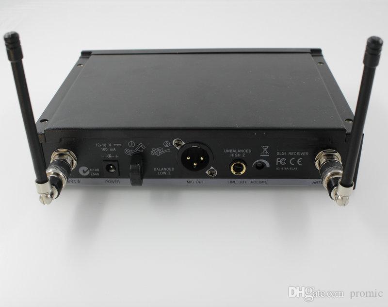 Freies Verschiffen SLX14 drahtloses einzelnes Kopfhörer-Mikrofon SLX UHF drahtloses Mikrofon