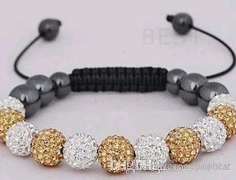 0411dbbe6 New Style!10mm Mixed Gfgtt Disco Ball Beads Bangles FRDG Women Men Crystal Shamballa  Bracelet Jewelry Wholesale I463 E23 Online with $4.63/Piece on ...