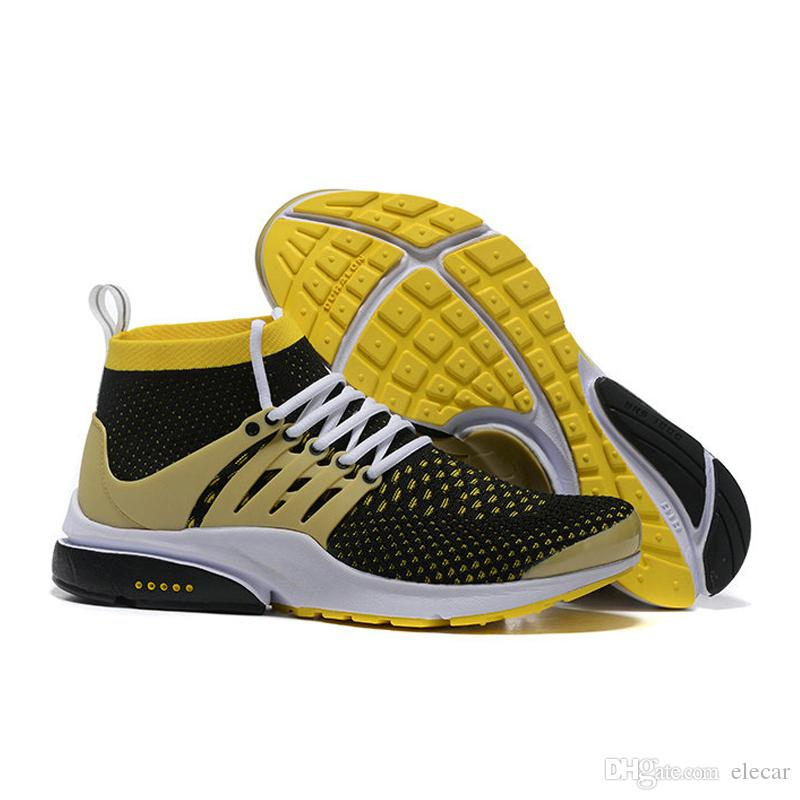 Top Quality 2018 Presto Running Shoes for Men Ultra Olympic BR QS Outdoor  Shoes for Women Breathable Mens Casual Sports Sneakers US 5.5-12 2018  Presto ... e9bd00394e4