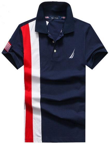 2019 top nautica casual men polo shirt us brand clothing classic