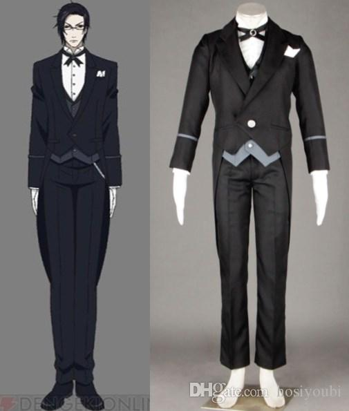 Black Butler Claude Outfit Cosplay Halloween Costumes Great Cosplay Costumes Anime Cosplay ...