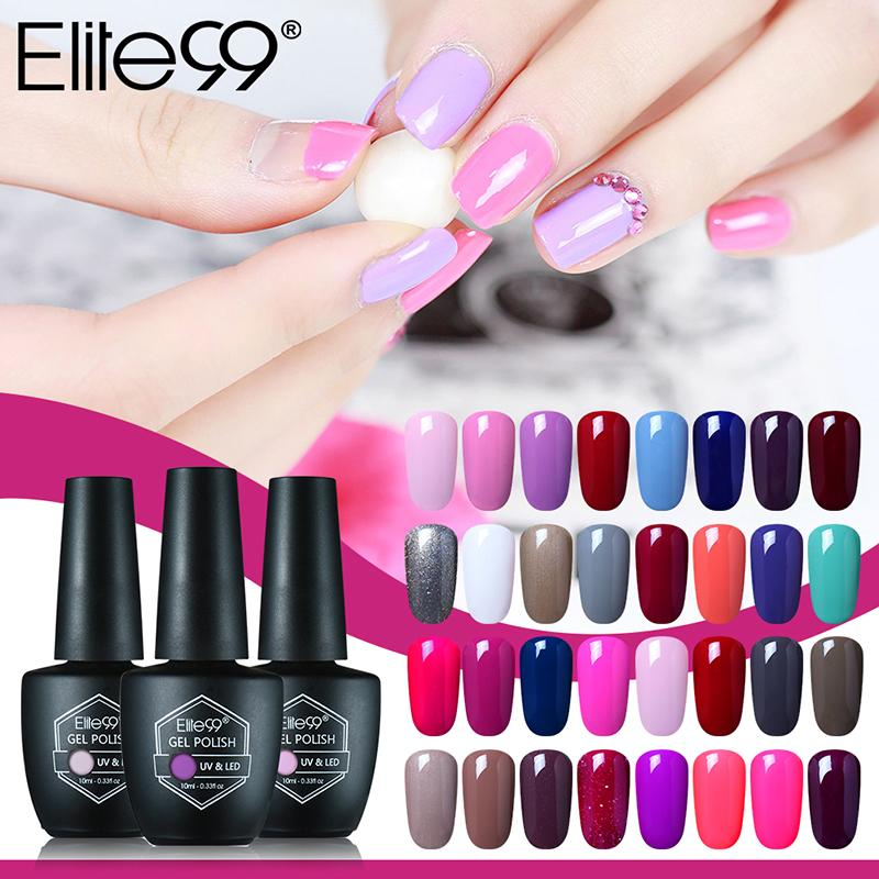 Wholesale Elite99 10ml Gel Nail Polish 59 Magic Colors Uv Gel Led ...