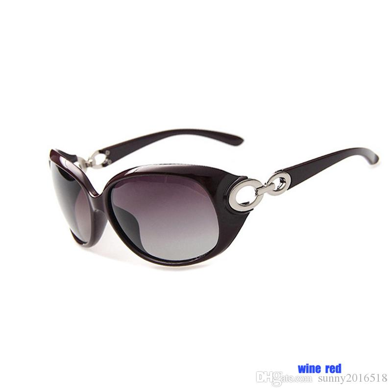 Trendy Women Fashion Sunglasses Polarized Outdoor Shopping Sun Glasses Driving Sunglasses Retro Big Frame Frog Mirror Girl Glasses