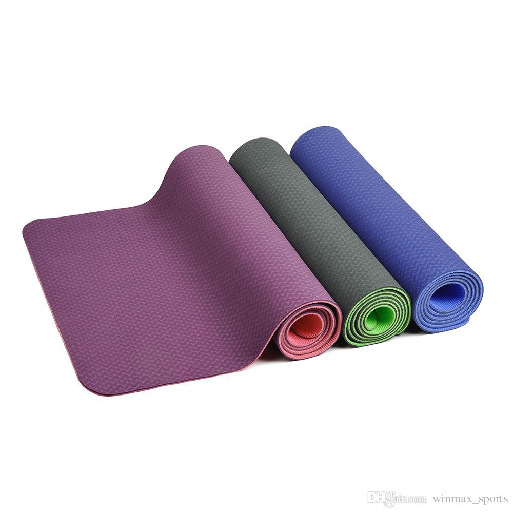 Acheter Tapis De Yoga De Winmax Tpe Tapis De Sport Pour Le Yoga