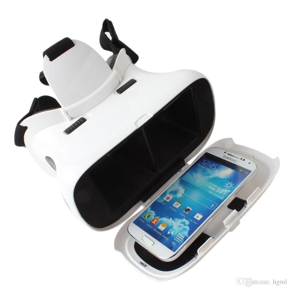 RITECH II Head Mount Plastic Version Google Cardboard Magnet VR 3D Glasses for 3.5 - 6 Inch Smartphone EGS_706