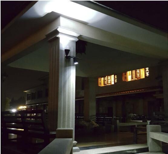 Refletor solar, luz solar da parede do diodo emissor de luz, luz exterior impermeável da noite da segurança sem fio, para o pátio, plataforma, jarda, jardim, entrada de automóveis