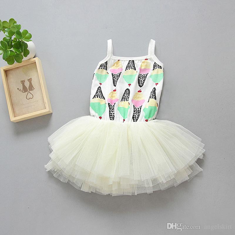 1a7a97d8893 Princess Baby Plain Ruffle Tulle Clothing Cotton Infant Baby TuTu ...