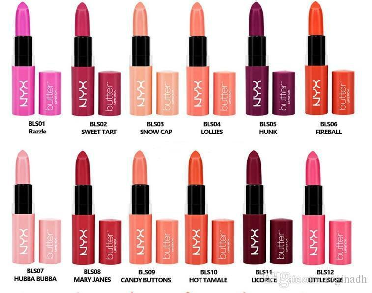 Lèvres Nyx Acheter Rouge Longue 12 Beurre Marque Couleurs Mat À R4AjL5