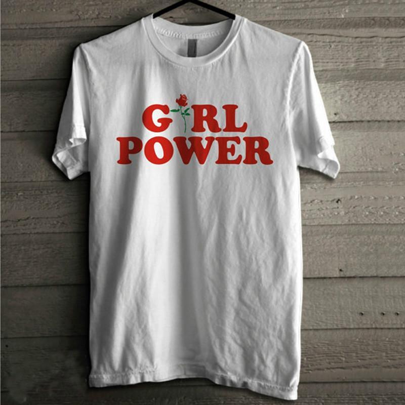 Grosshandel Grosshandels Girl Power T Shirt Feminismus T Shirt Girl