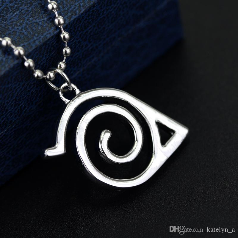 naruto Ninja Leaf Village necklace two