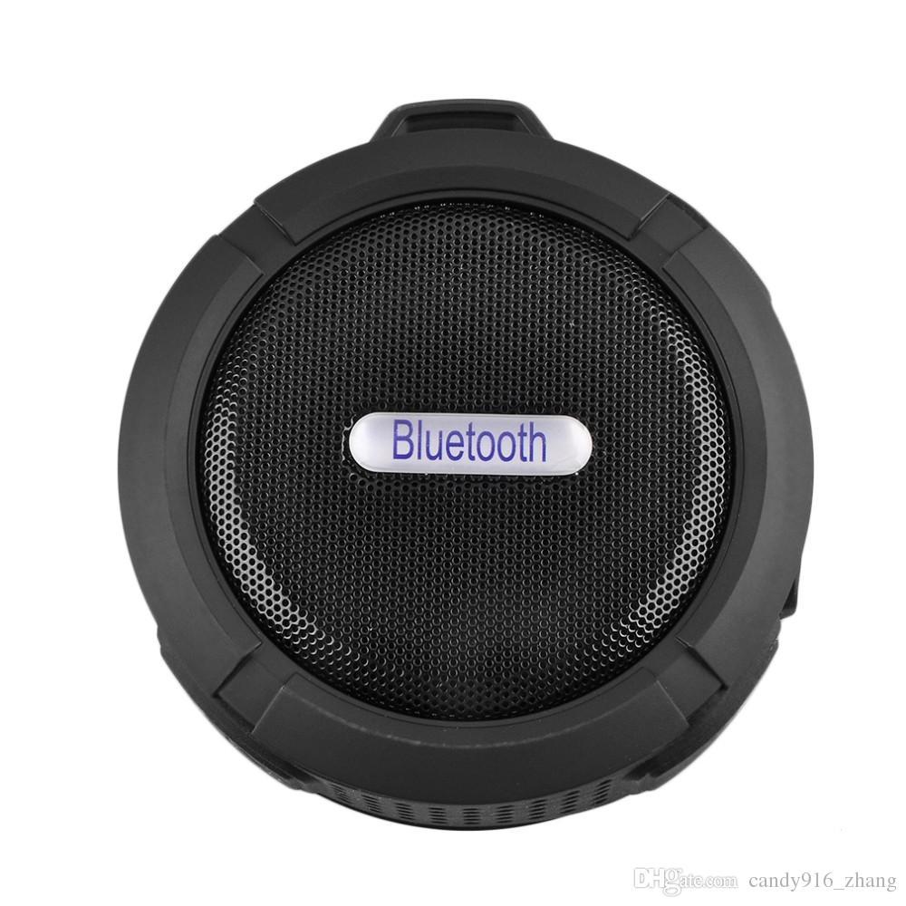 NEW بلوتوث البسيطة المحمولة USB اللاسلكي رئيس C6 دش الصوت للماء مربع مكبر الصوت BOOMBOX مضخم الصوت لأجهزة الكمبيوتر المحمول / PC / MP3 / MP4