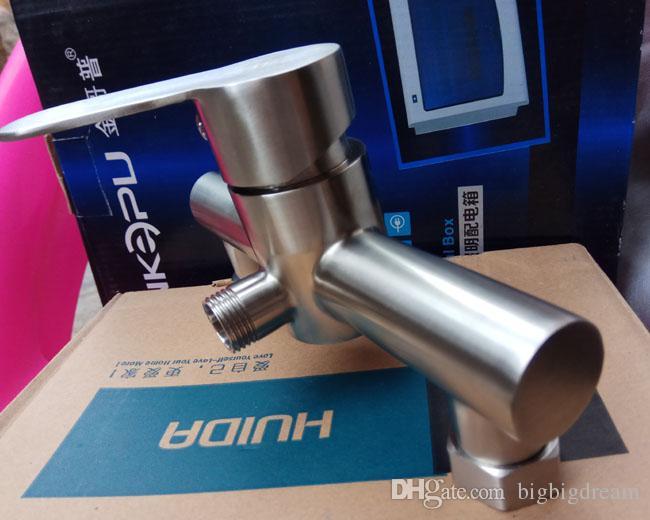 NEUE Kalte und Heiße Bad Wc edelstahl Bidet Sprayer Wasserhahn Set Multifunktions Spray Spray Dusche mischer