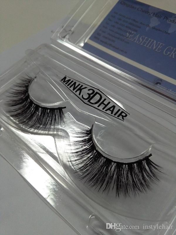 New Handmade 3D False Eyelashes Extensions Popular Messy Natural Paragraph 3D Eye Lashes Strips Make Up Beauty