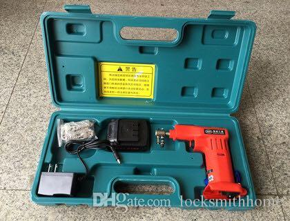 JSSY Electric 25 pins Lock Pick Gun Dimple Lock Bump Outil de serrurier Set pickp gun