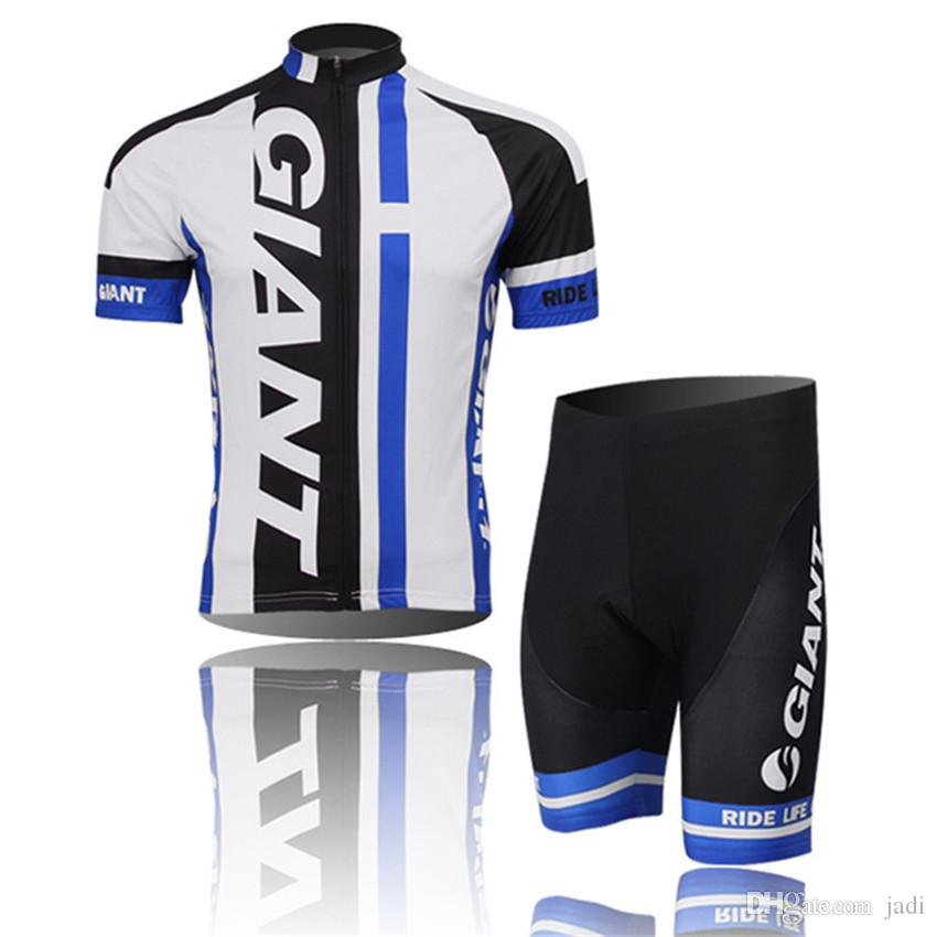 2017 Giant Pro Team Cycling Jersey Bicycle Giant Shorts Jacket Bib Shorts Bicycle Set Bike Bicileta MTB Ropa Ciclismo Hombre
