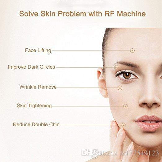 Tamax usage à la maison rechargeable radiofréquence serrant la peau enlever le visage masseur rajeunissement de la peau Portable dispositifs anti-vieillissement