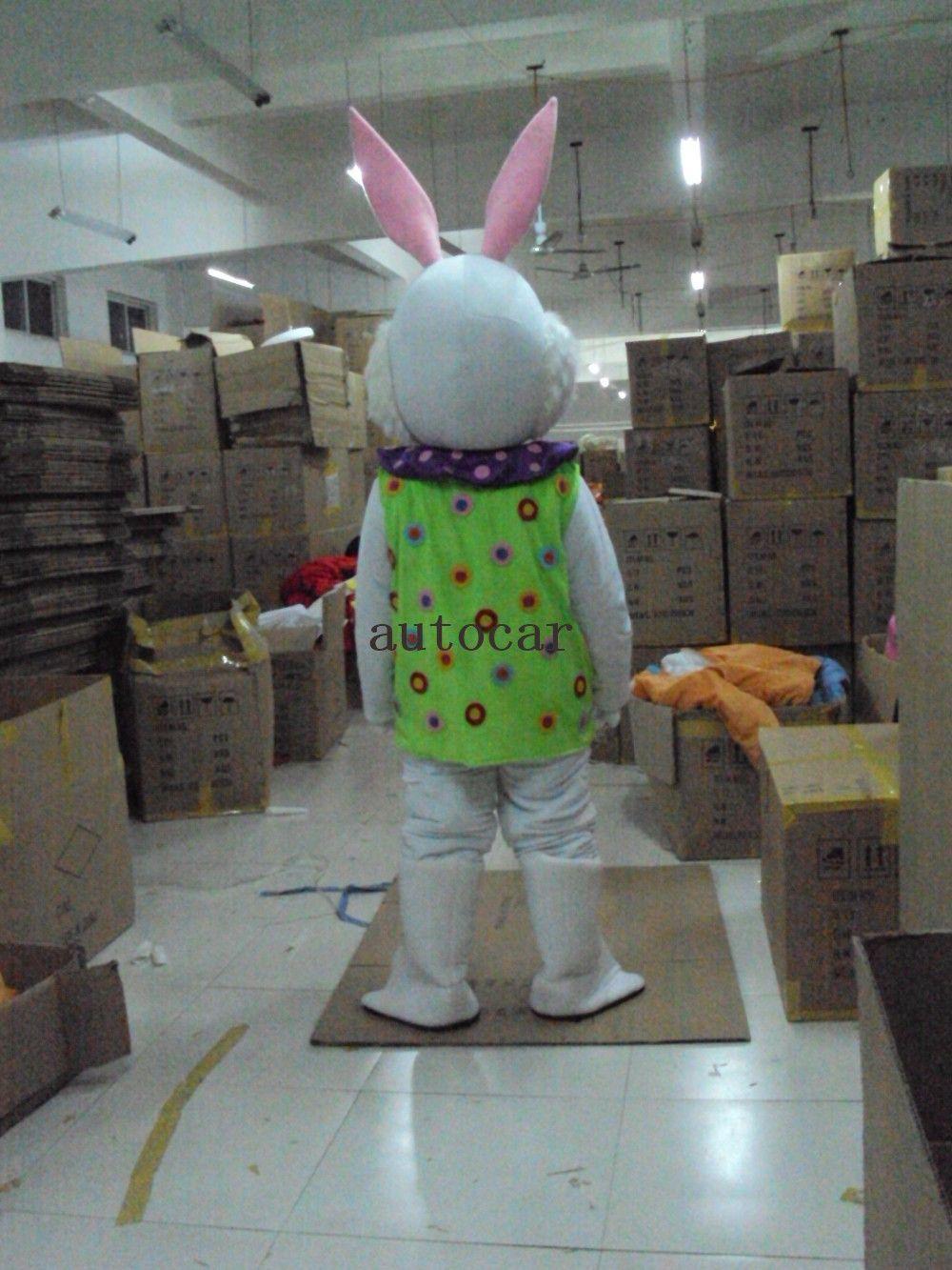 Traje de mascote de coelho traje de mascote como moda frete grátis