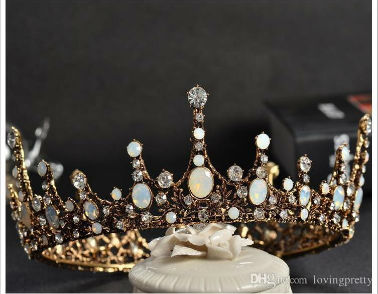 Jane Vini Vintage Rhineston Bridal Tiaras And Crowns For Special Occasion Headbands Hairbands With Crystal Headpieces Wedding Accessories