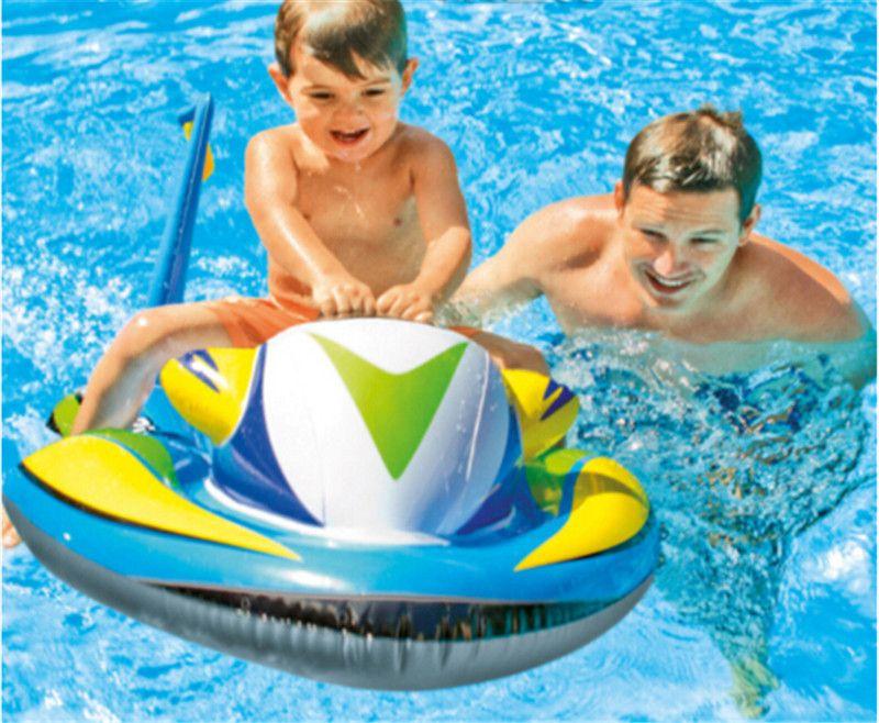 2019 117 77cm Jet Ski Boat Inflatable Children Pool Float