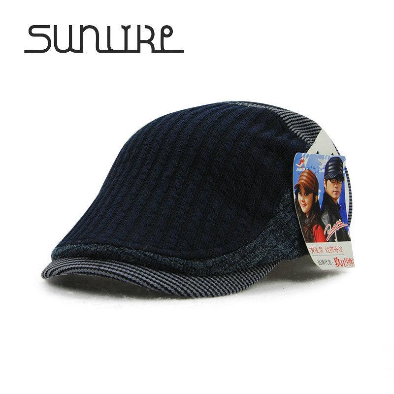 2019 Wholesale Classic Autumn Winter Cotton Beret Buckle Hat For Men Women  Solid Unisex Leisure Warmer Beret Hat Cap Casquette Newsboy Sombrero From  Huteng 71dbd7f2d1e