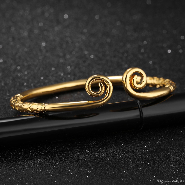 Bracelets en laiton doré à l'or 18 carats, charme de mariage de qualité Jewelr Hight, bijoux pour femme, taille 160mm, poids 16G, livraison gratuite, vente en gros à l'usine