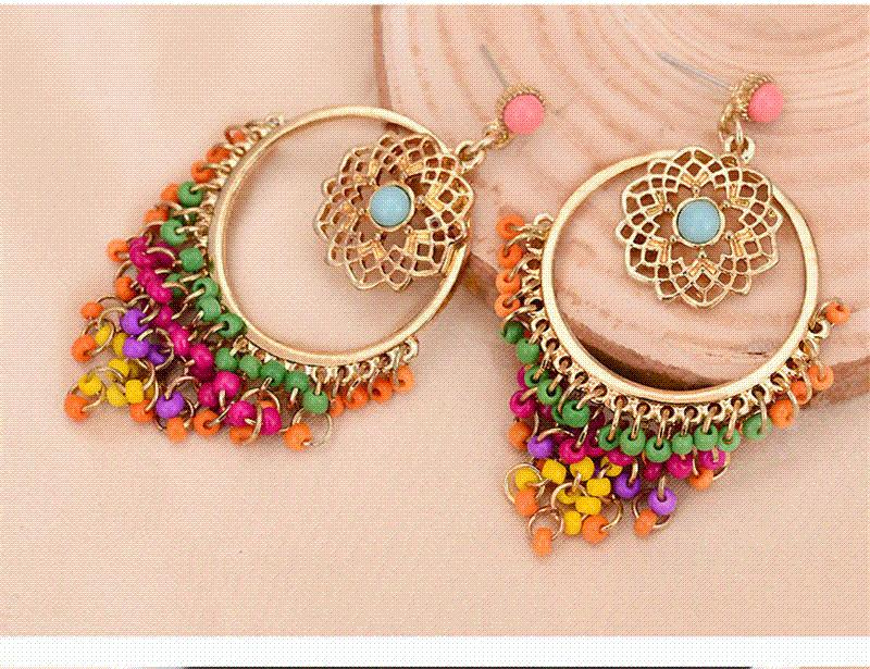 Big Statement Earrings for Women Brincos Grandes New Arrival ... f3828bb3ae6f